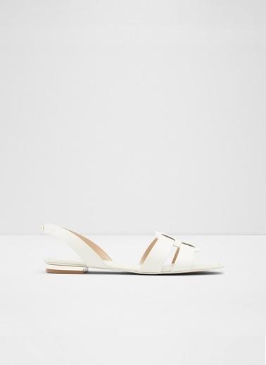 Aldo Lothathiel - Beyaz Kadin Sandalet Beyaz